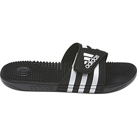 adidas Adissage Claquettes Homme, core black/ftwr white/core black